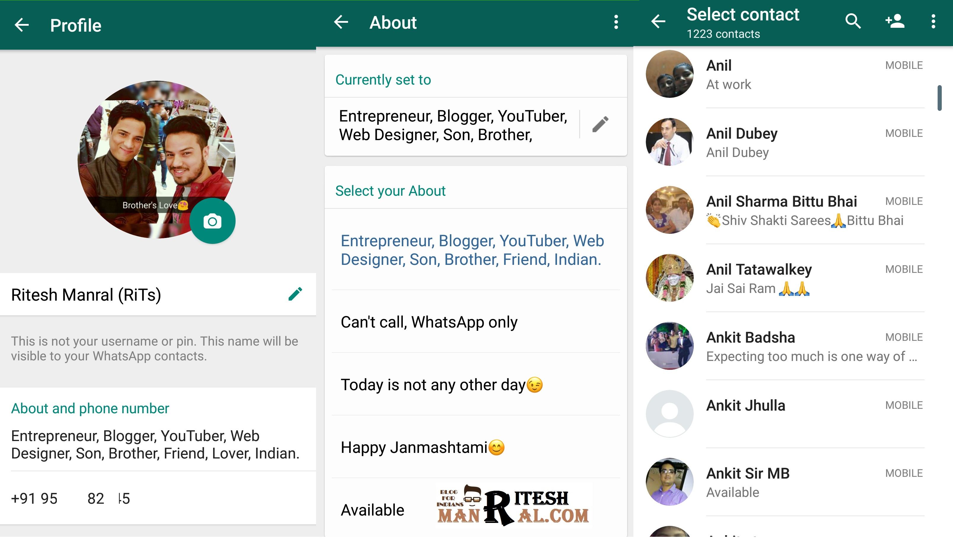 WhatsApp Back With Old Text Status Feature and Much More New Feature