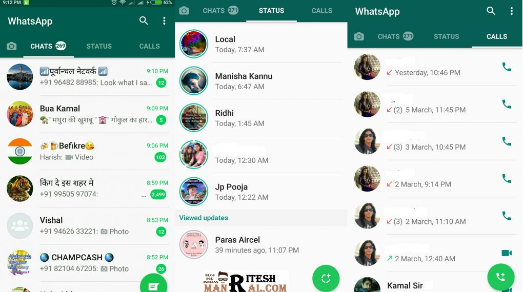 WhatsApp Lunch New Status Feature Like SnapChat